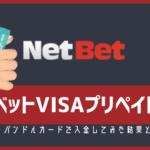 ネットベットのバンドルカード・Vプリカ入金対応と入金方法